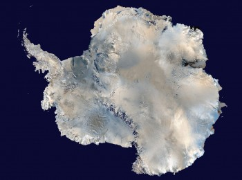 Cartographie de la situation de l'Antarctique